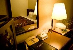 ビジネスホテルの部屋